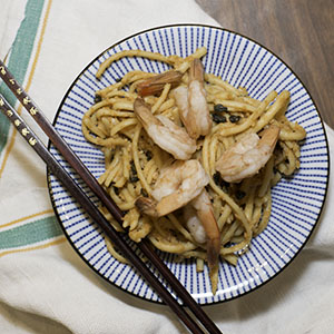 Gunpowder Green Tea Shrimp