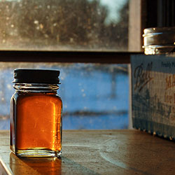 Organic Mulled Maple Syrup: Image courtesy of Sterling College